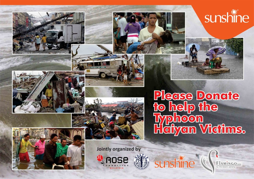 Charity Typhoon Haiyan1